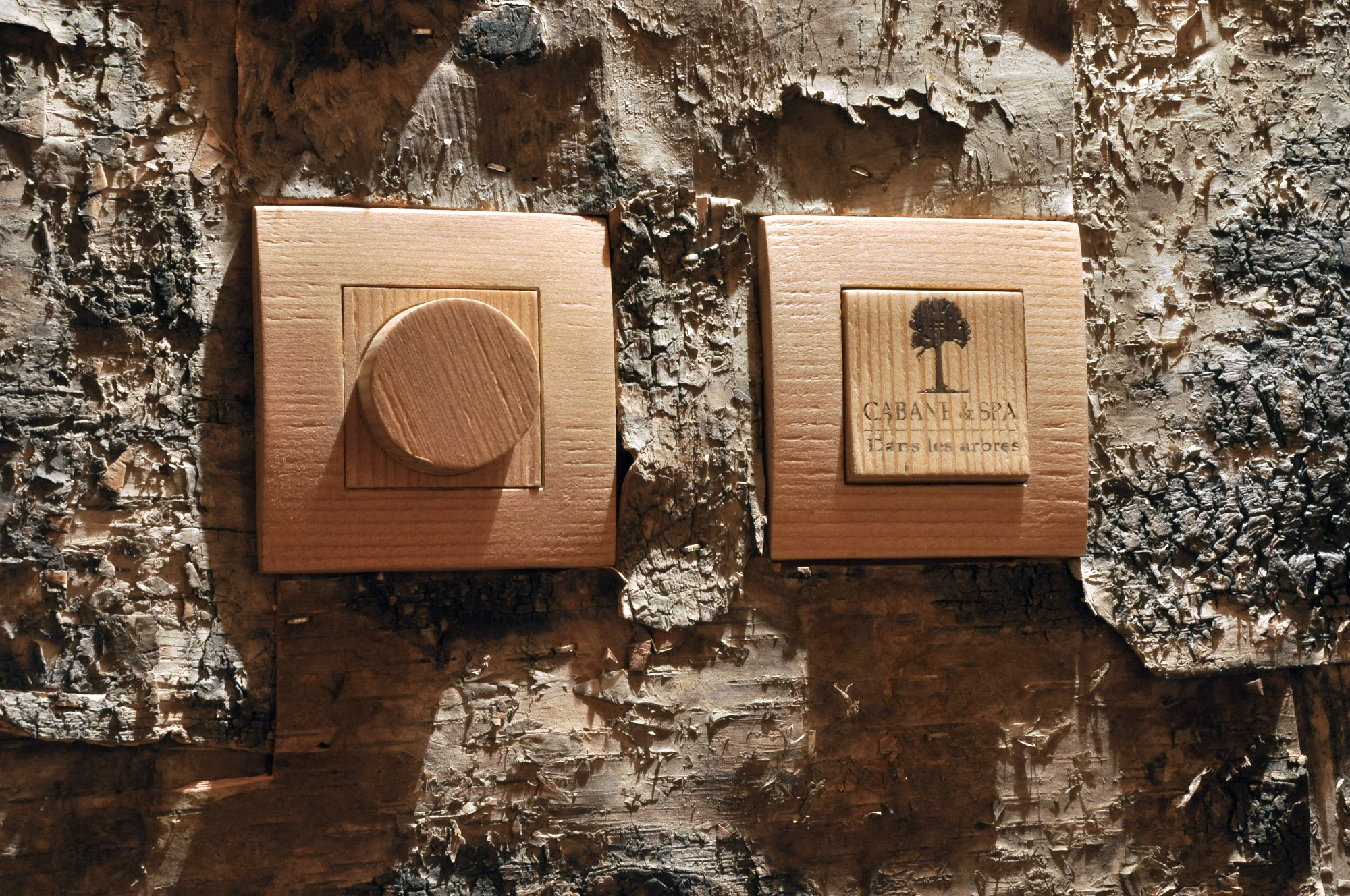 Design bois Cabane & Spa Mirabel